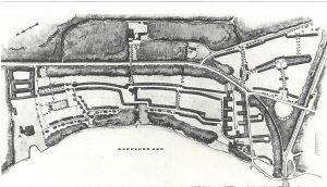 Entwurf für die Bebauung von Gildenhall 1924/1925 | Edition Rieger