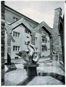 Brunnenfigur zum Märchenbrunnen im Germaniagarten, Berlin 1930