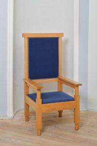 Sessel aus dem Fotoatelier Warnke von Eberhard Schrammen, um 1925 | Sammlung Manfred Neumann, Dauerleihgabe Museum Neuruppin Foto: R.Wieczorek,