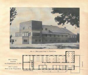 Kinderheim von Gildenhall | Deutsche Bauzeitung 1926