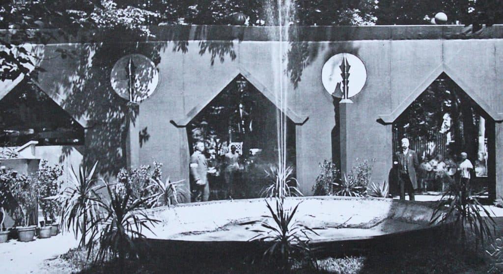 Eingang zur Landwirtschaftsausstellung, Neuruppin 1926 | Edition Rieger