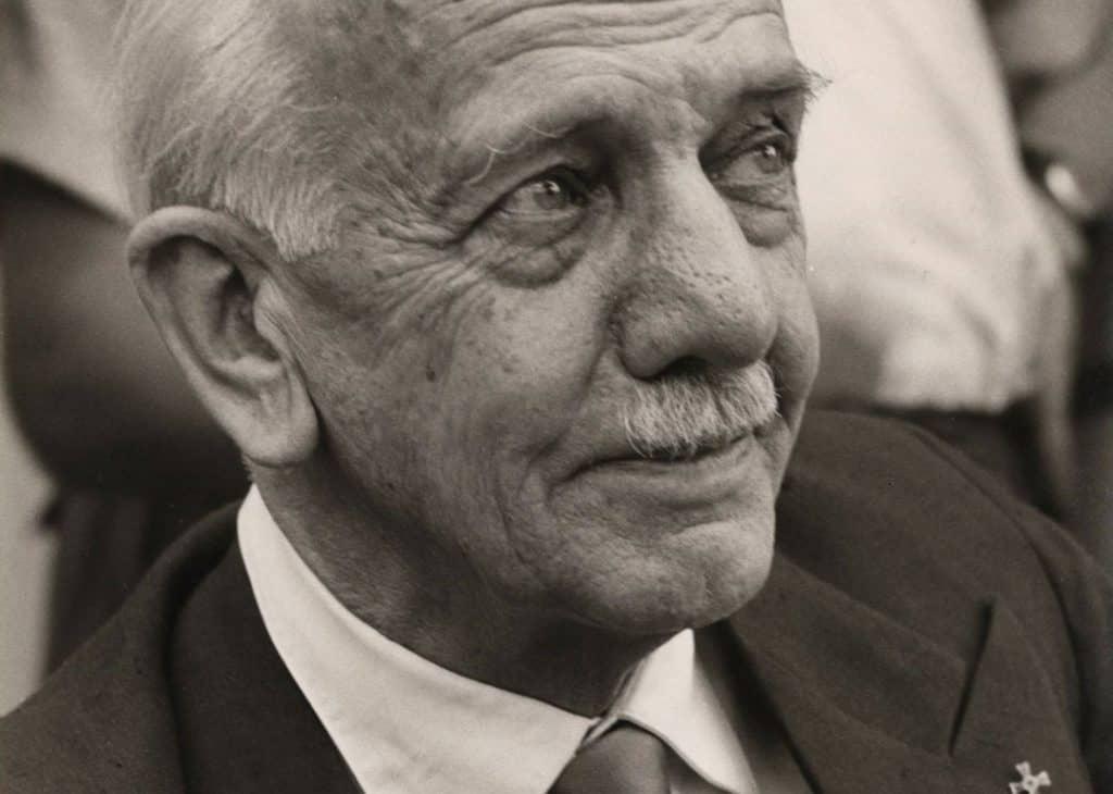 Otto Bartning Foto: © Universitätsarchiv der TU Darmstadt, Nachlass Bartning